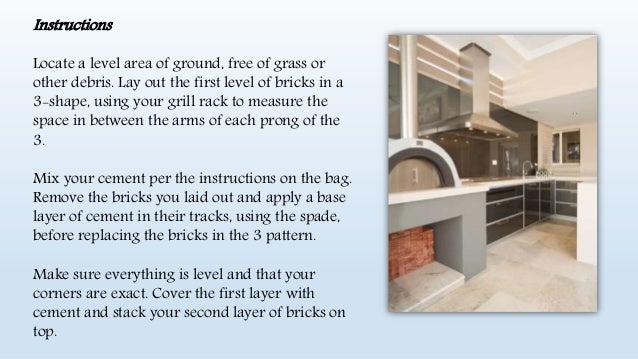 How to Build a Brick Built-In BBQ