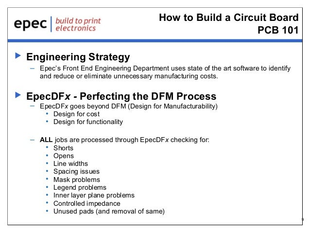 How to Build a Circuit Board PCB 101   Engineering Strategy – Epec's Front End Engineering Department uses state of the a...