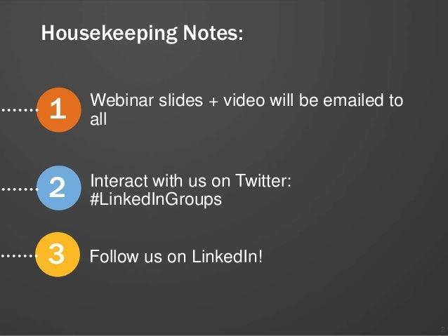 How to Build a Large and Successful LinkedIn Group Slide 2