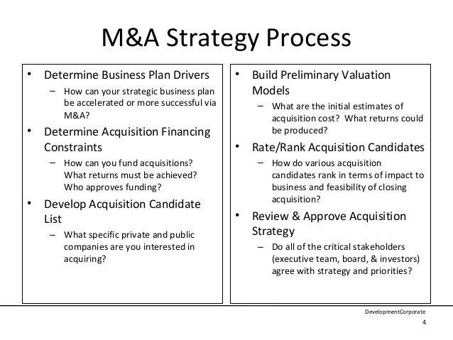 company acquisition template
