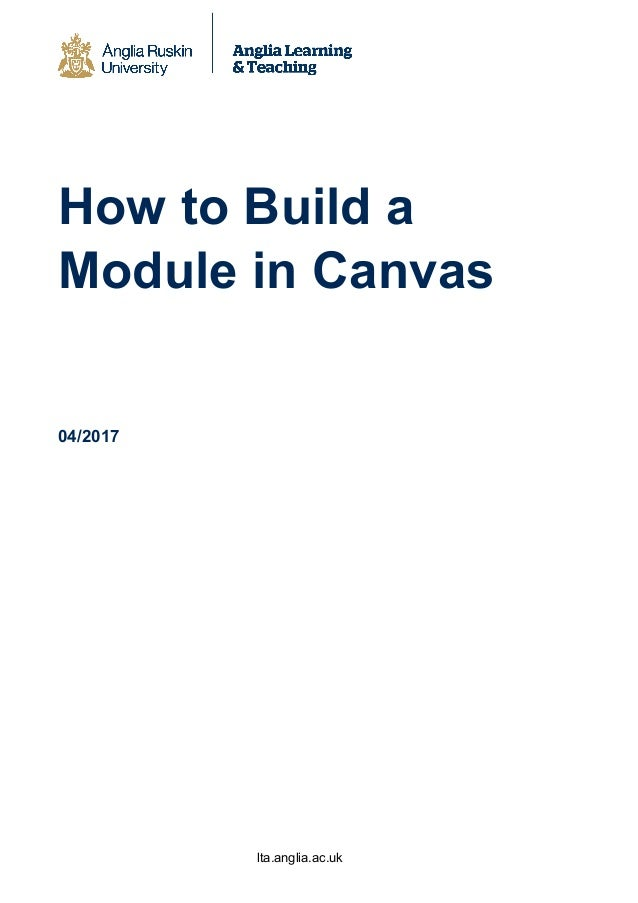 How to build a module in canvas fhsce final (1)