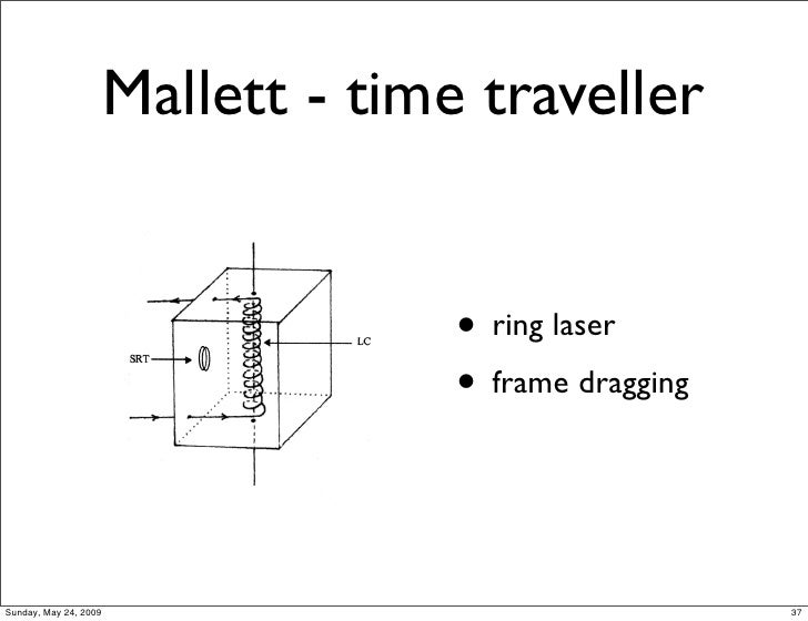 laser time machine