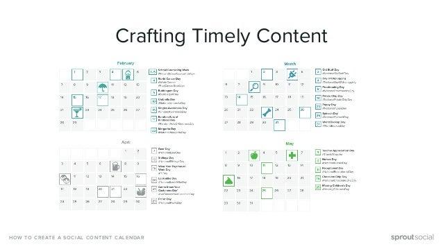 How To Build A Social Media Content Calendar