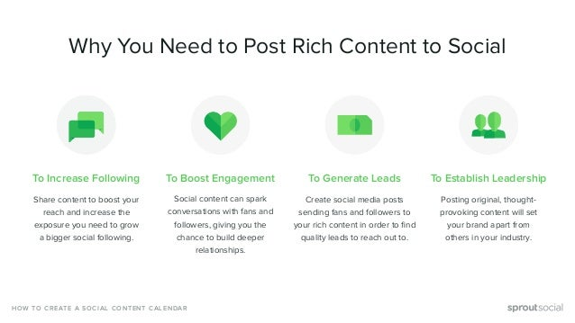 To Increase Following Share content to boost your reach and increase the exposure you need to grow a bigger social followi...