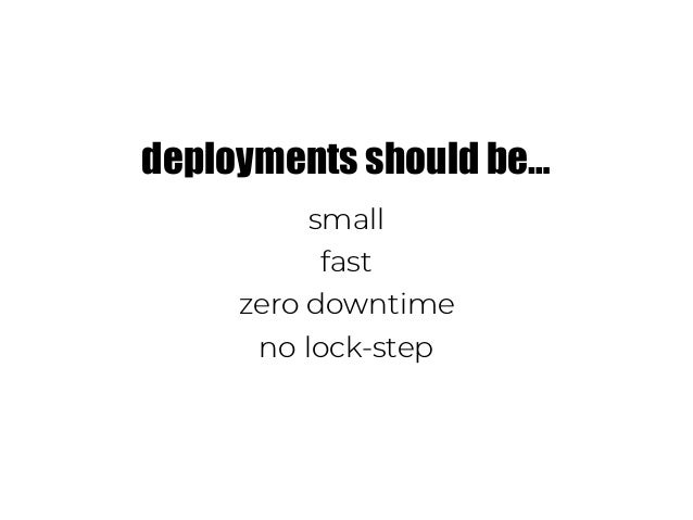 WHY? to deliver better UX to deliver value faster to be more cost efficient HOW? microservices event-driven