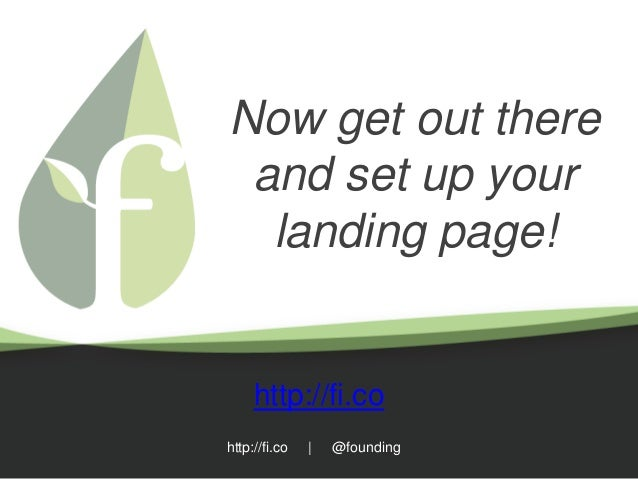 how to build a landing page from scratch