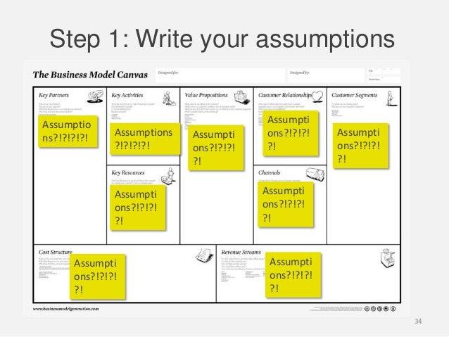 Step 1: Write your assumptionsAssumptions?!?!?!?!Assumptions?!?!?!?!Assumptions?!?!?!?!Assumptions?!?!?!?!Assumptions?!?!?...