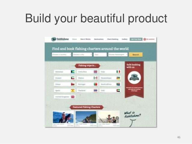 Build your beautiful product46