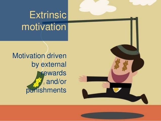 extrinsic motivation research paper Ple dichotomy between intrinsic and extrinsic motivation made the theory difficult  to  in this paper, we present sdt, review the research on which it was based,.