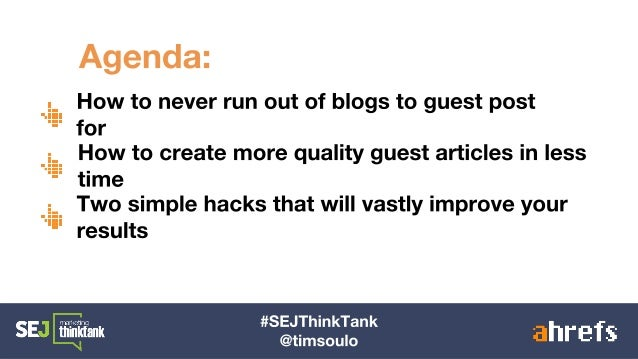 How to Build High-Quality Links at Scale via Guest Blogging