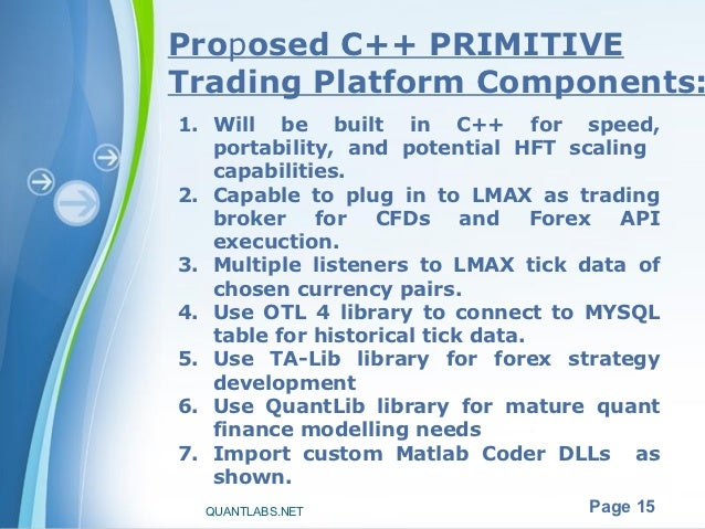 How to build high frequency trading with our matlab secrets with c++
