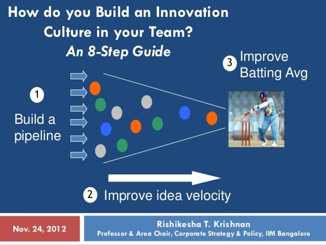 How do you Build an Innovation    Culture in your Team?       An 8-Step Guide                              3 Improve      ...