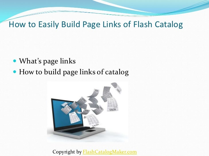 How to Easily Build Page Links of Flash Catalog  What's page links  How to build page links of catalog             Copyr...