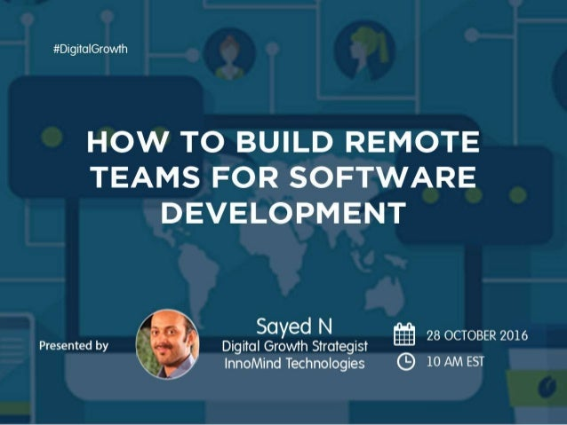 How to Build Remote Team for Software Development
