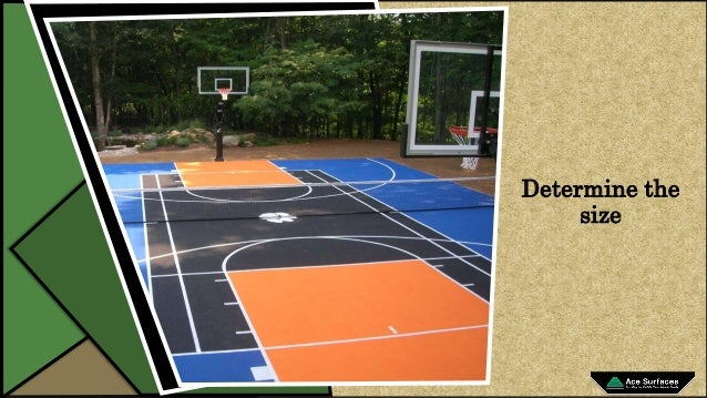 How to Build the Basketball Court at Home Backyard