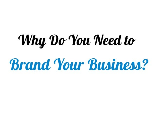 Brand Makes You