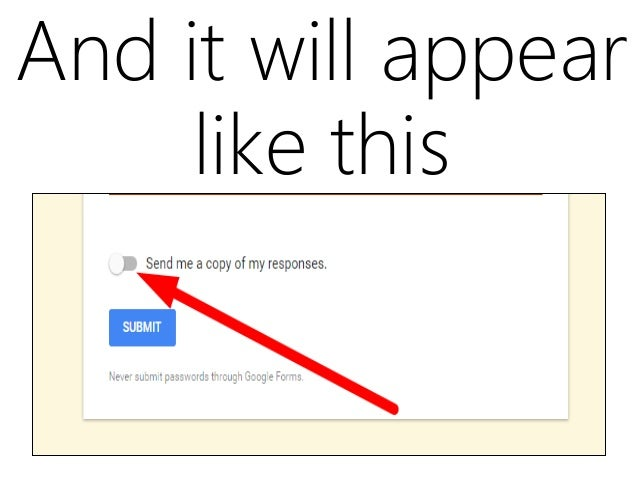 How to build your first google form