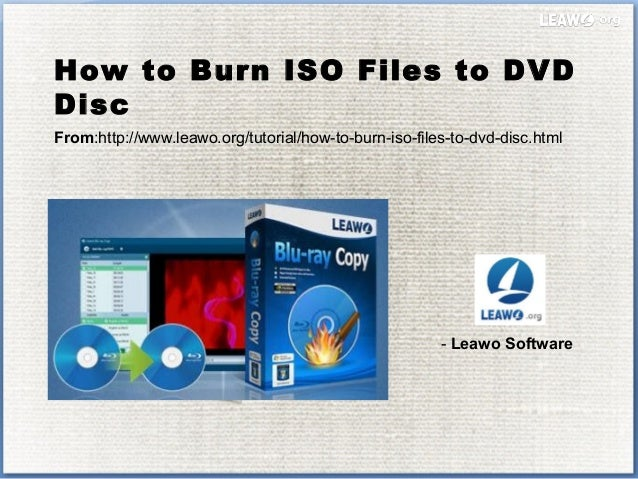 How to burn iso files to dvd disc