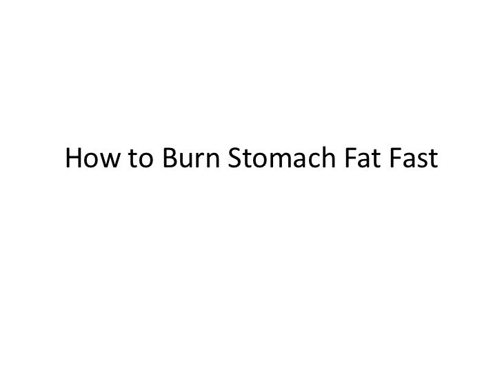 how to burn unsaturated fat in body
