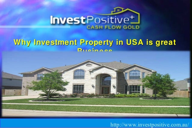 Natural Strategies LLC Why Investment Property in USA is greatWhy Investment Property in USA is great BusinessBusiness htt...