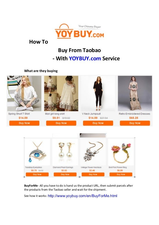 d37ec030 How to buy from taobao with yoybuy service