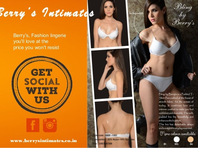 Berry's Intimates Berry's, Fashion lingerie you'll love at the price you won't resist www.berrysintimates.co.in