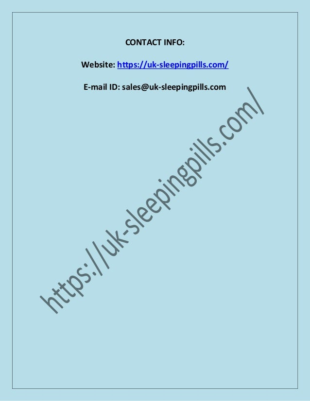 How To Buy Zopiclone 7 5mg Sleeping Tablets Online