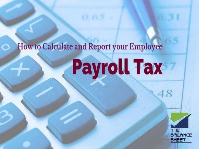 simple payroll tax calculator