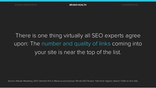 There is one thing virtually all SEO experts agree upon: The number and quality of links coming into your site is near the...