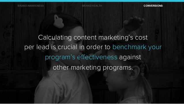 Calculating content marketing's cost per lead is crucial in order to benchmark your program's effectiveness against other m...