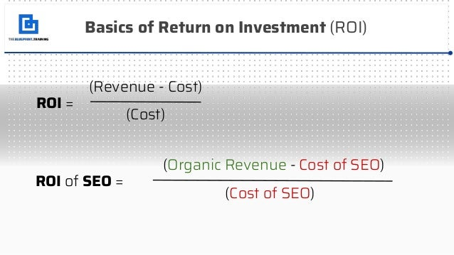 How to Calculate the ROI of SEO Slide 3
