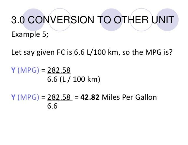 how to calculate your fuel consumption fc