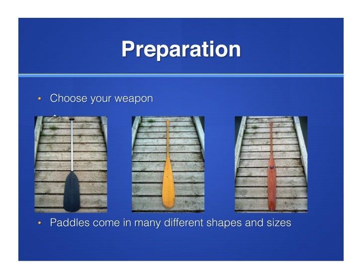 How to canoe image instruction Slide 3