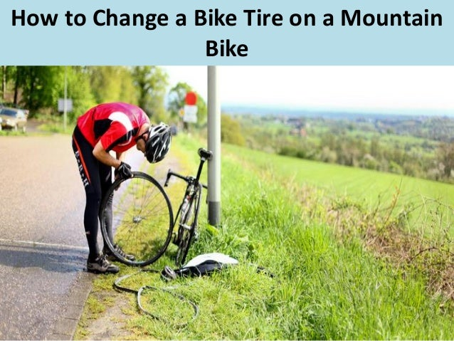 youtube how to change a bike tire