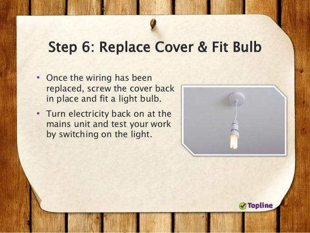 How to Replace a Ceiling Light Fixture - dummies
