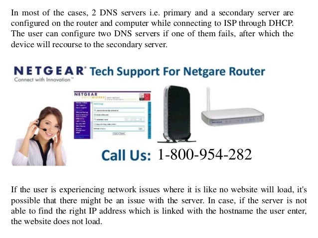 How to change dns server settings on netgear