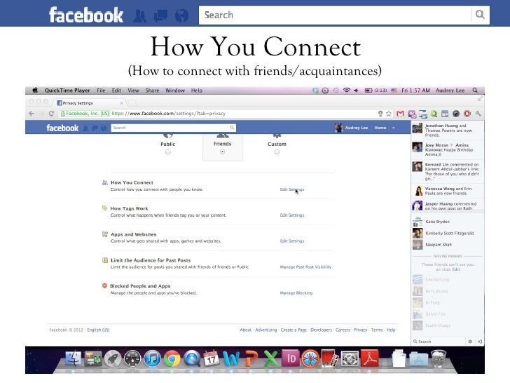 How You Connect(How to connect with friends/acquaintances)