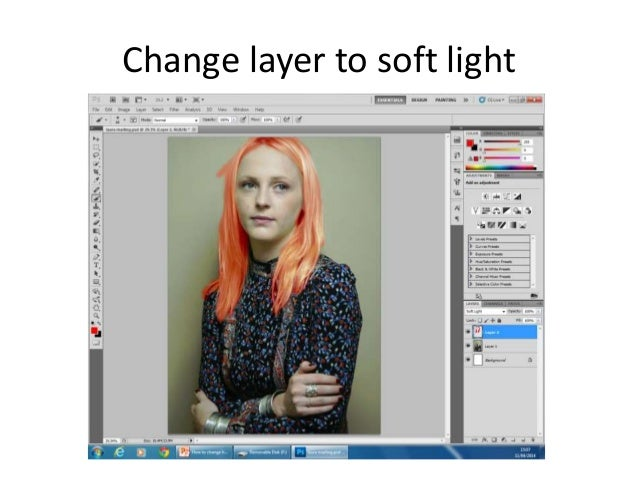 how to change color in photoshop cs5