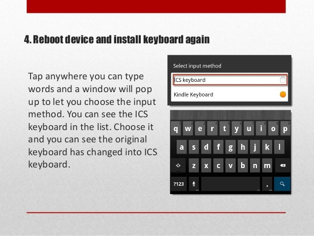 how to change on keyboard