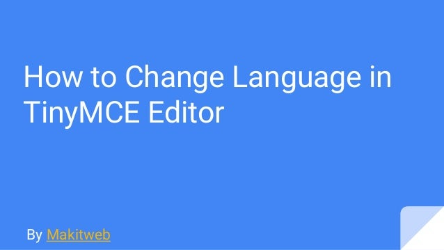 how to change language in google slides