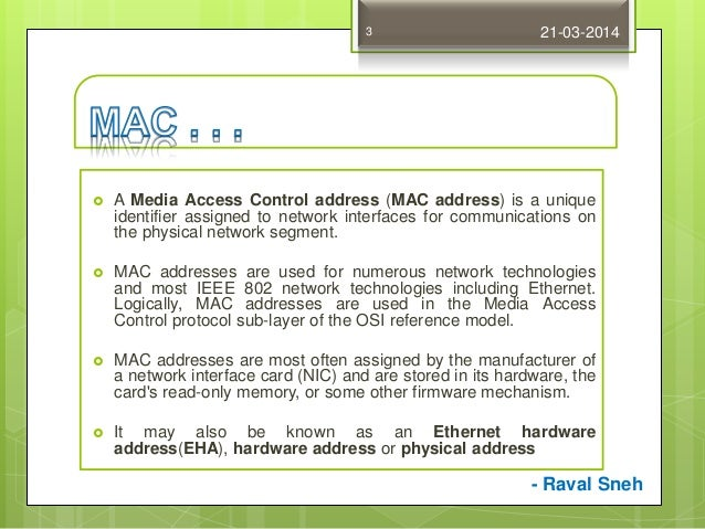 how to change my mac address