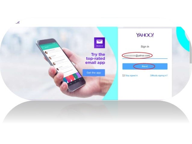 How to change or setup a new phone for yahoo account key?