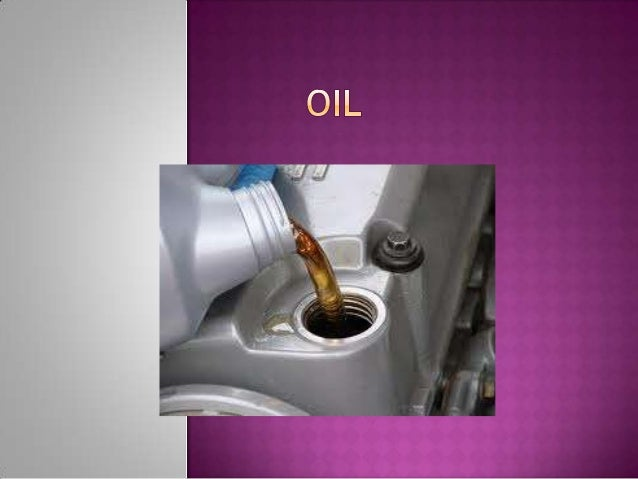 informative speech on how to change your car oil
