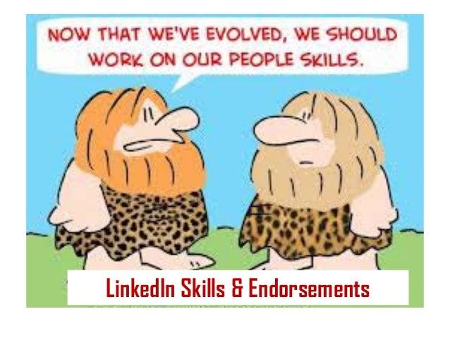 LinkedIn Skills & Endorsements