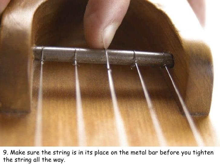 How To Change The String On A 5 15 Kantele