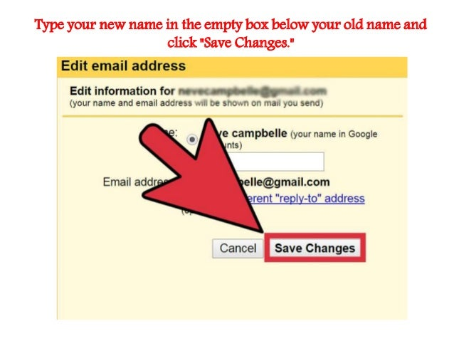 how to change your name on yahoo mail