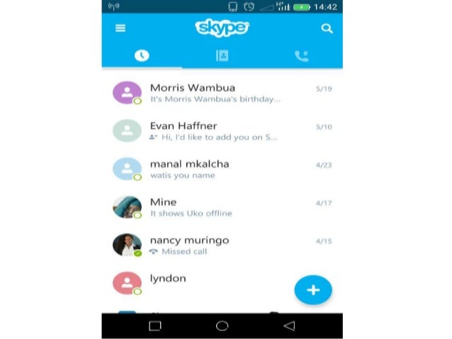 How to change your skype display name on android