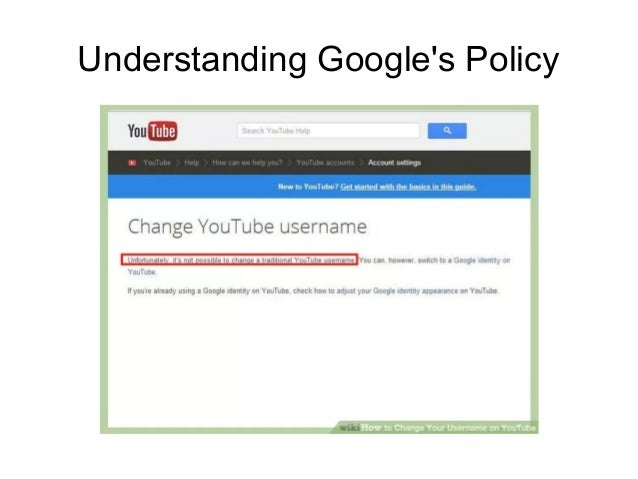 Change nickname google account How to
