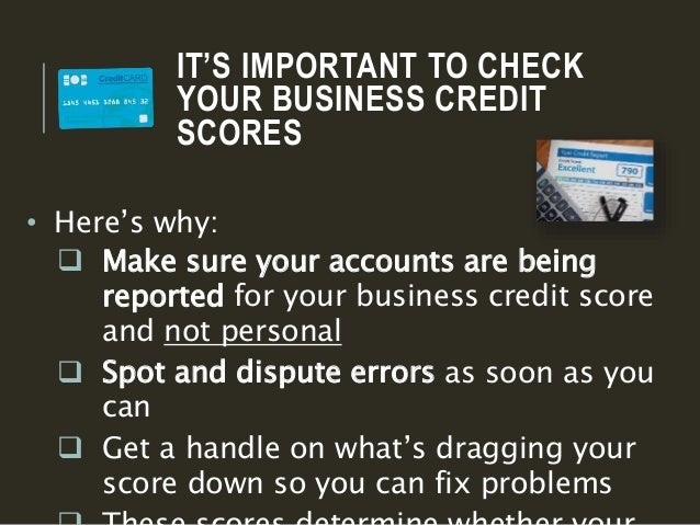 How to check your business credit scores creditsuiteein 4 its important to check your business credit scores reheart Images