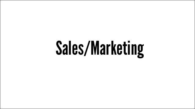 Sales/Marketing